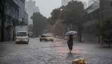 Inmet: Chuvas devem continuar fortes no Sudeste e Centro-Oeste
