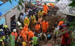 Vinte e um corpos foram recuperados entre os escombros, enquanto as operações de busca continuam, disse NDRF