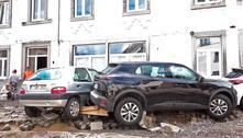 Novas tempestades na Bélgica deixam inundações e danos