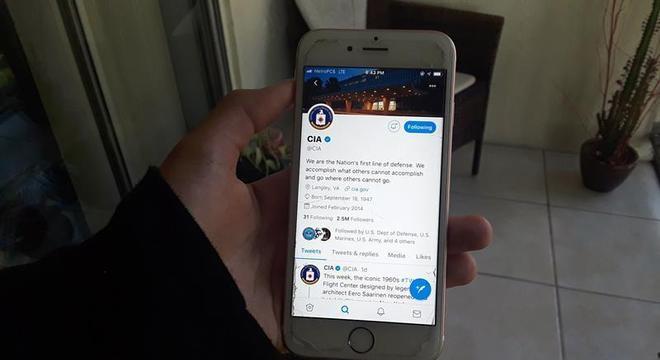 Perfil no Twitter é uma das principais 'armas' da CIA nas redes sociais