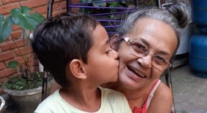 Maria Cícera Ferreira: saudade de conviver com os netos