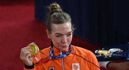 Shanne Braspennincx venceu na categoria keirin