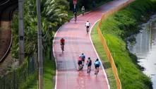 Uso de bicicletas cresce em SP, mas ciclistas evitam máscaras