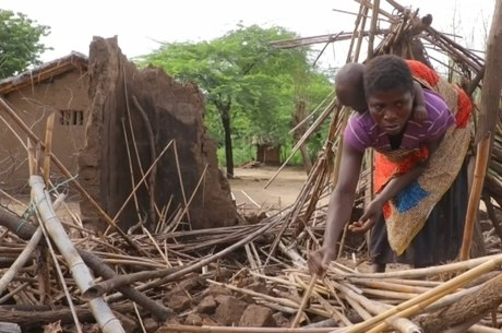 Ventos e chuvas devem atingir o Zimbábue
