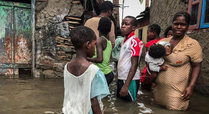 Pelo menos seis pessoas morreram em Moçambique em passagem de ciclone