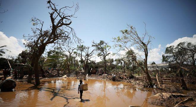 Moçambique: ao menos 531 mil pessoas foram afetadas pelo ciclone