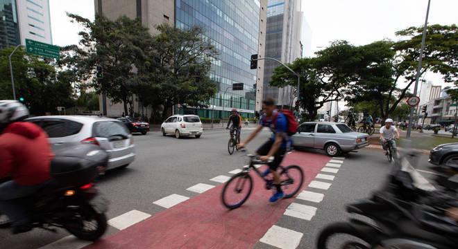 36 ciclistas morreram na capital paulista no ano passado