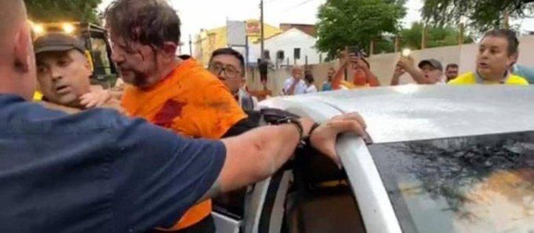 Cid Gomes é atingido por tiro em protesto de policiais no Ceará