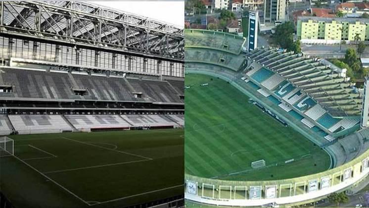 Cidade: Curitiba (PR) - Clubes: Athletico-PR e Coritiba - A Prefeitura da cidade já autorizou a entrada de torcida nos estádios.
