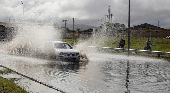 Chuvas de inverno atenuaram seca histórica na Cidade do Cabo