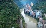 As respostas envolvem questões de ordem histórica, uma vez que as margens do rioGuanhe são ocupadas há centenas de anos