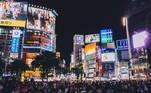 Tóquio, no Japão, é a 4ª cidade mais cara do mundo. Em 2020, ela ocupava a 3ª posição no ranking geral