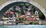 Em 10º lugar na lista está a cidade de Berna, na Suíça. O país, que sempre ocupa posições altas na lista, aparece outras duas vezes