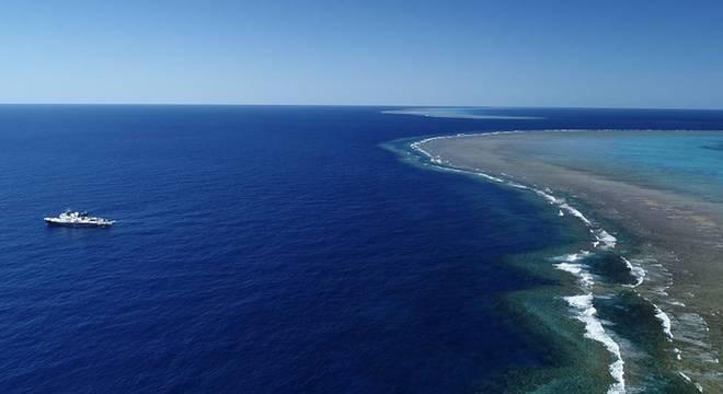 O novo recife foi encontrado perto do Cabo York, no extremo norte da Austrália