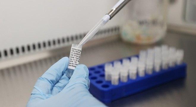 Laboratório de desenvolvimento de vacina na Grã-Bretanha