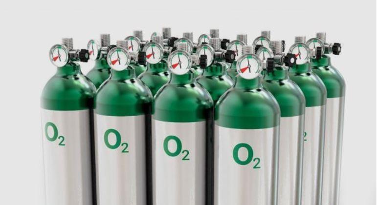 Ideia da companhia é produzir 120 cilindros de oxigênio por dia para doação