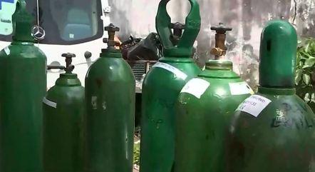Prefeito alerta para falta de cilindros de oxigênio