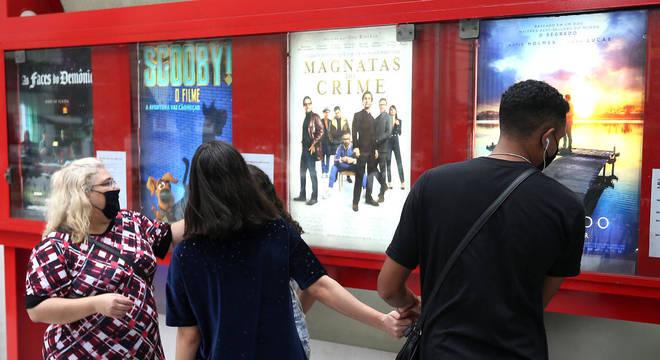 Cinemas poderão reabrir em São Paulo