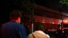 Governo federal pede à PF para apurar incêndio da Cinemateca