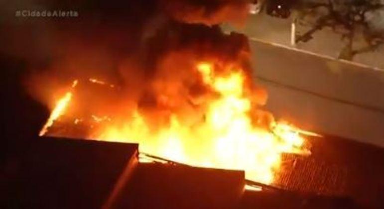 Fogo atinge a Cinemateca de São Paulo