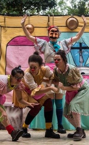 Circo di SóLadies em ação