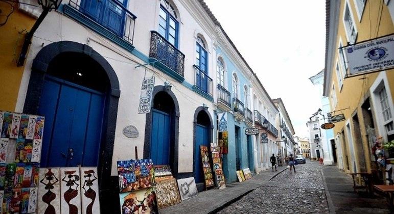 Circuito do Carnaval de Salvador (BA), em 2021 se encontra vazio, devido à pandemia de covid-19
