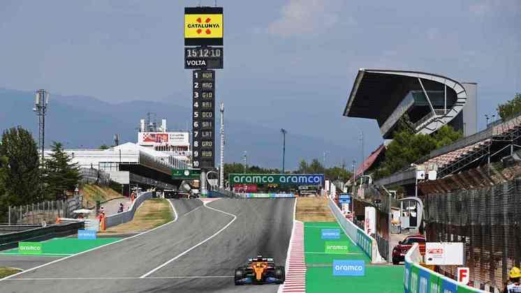 Circuito da Catalunha é familiar para todos os pilotos do grid, pois é usado na pré-temporada
