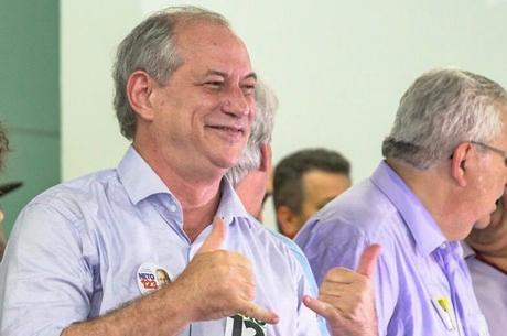 O candidato do PDT, Ciro Gomes