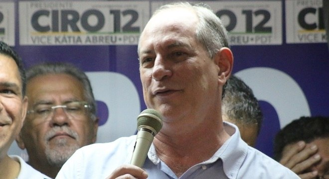 Ciro Gomes descarta apoio a Jair Bolsonaro (PSL) no segundo tunro