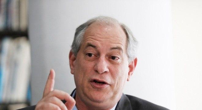 O ex-governador do Ceará Ciro Gomes