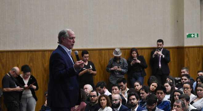 Ciro Gomes ministrou palestra em universidade de São Paulo