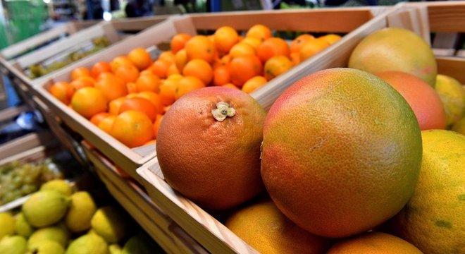 Cítricos são indicadores de uma dieta saudável, assim como fibras
