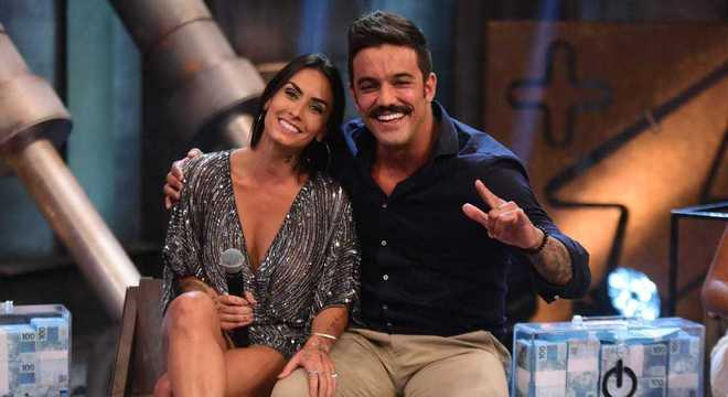 Clara Maia e André Coelho terminaram a competição em terceiro lugar