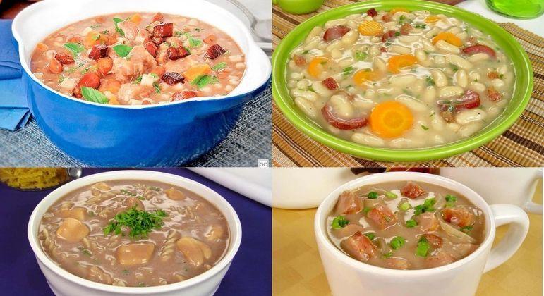 Clássica e saborosa: 5 receitas de sopa de feijão para provar no inverno