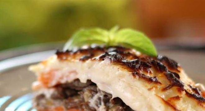Clássico da gastronomia italiana feito com carne de sol e jerimum