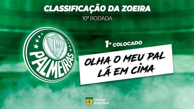 Classificação da Zoeira: 1º colocado - Palmeiras
