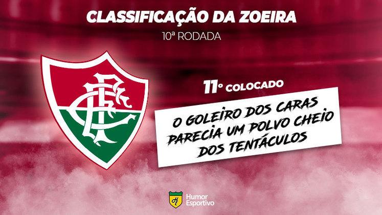 Classificação da Zoeira: 11º colocado - Fluminense