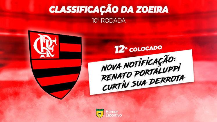 Classificação da Zoeira: 12º colocado - Flamengo