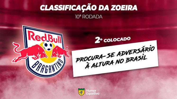 Classificação da Zoeira: 2º colocado - RB Bragantino
