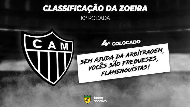 Classificação da Zoeira: 4º colocado - Atlético-MG