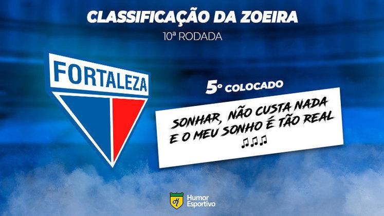 Classificação da Zoeira: 5º colocado - Fortaleza