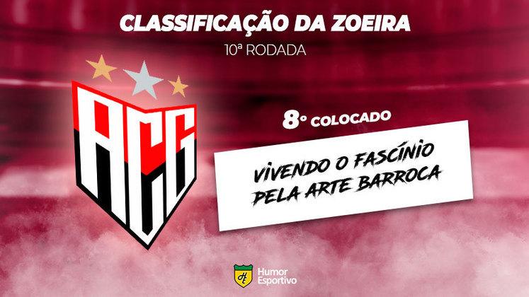 Classificação da Zoeira: 8º colocado - Atlético-GO