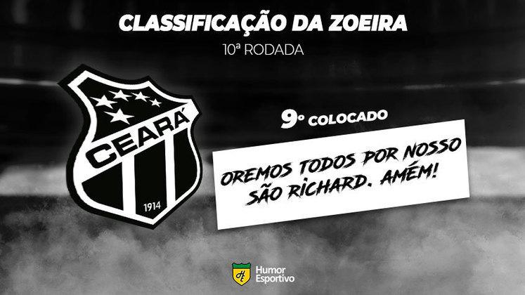 Classificação da Zoeira: 9º colocado - Ceará