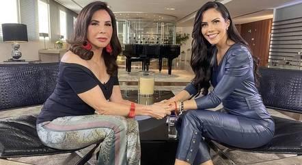 """Cláudia Alencar e Daniela Albuquerque no """"Sensacional"""""""