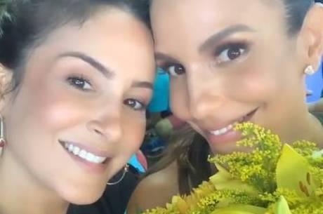 Cladia Leitte e Ivete Sangalo juntas para novo trabalho