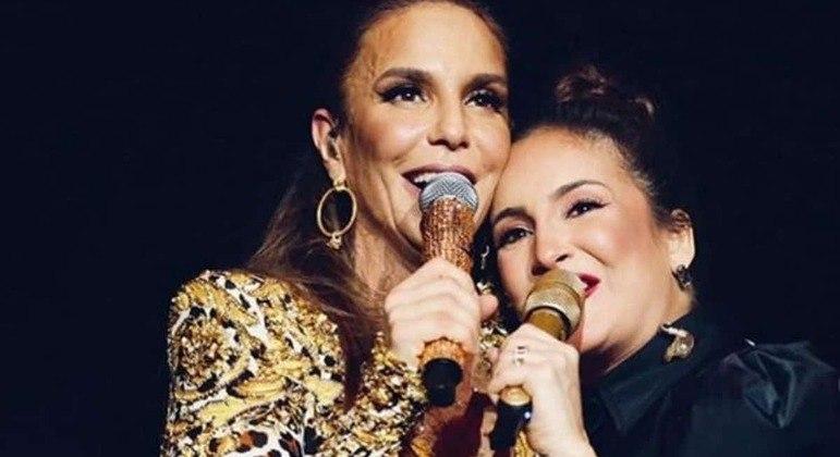 Ivete Sangalo e Claudia Leitte se apresentam em live neste sábado às 17h30