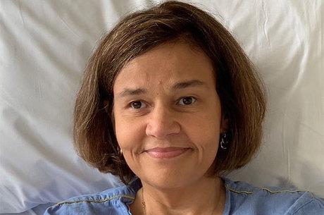 Claudia segue internada em hospital de SP