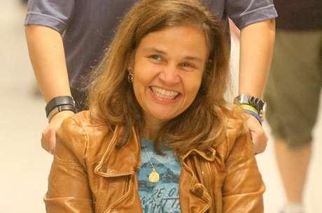 Claudia está internada em São Paulo