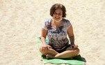 Claudia tem 50 anos e luta contra a esclerose desde 2000
