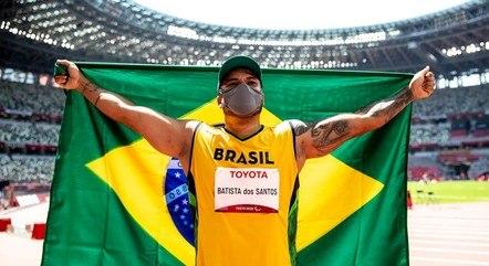 Claudiney levou o quinto ouro do Brasil nos Jogos